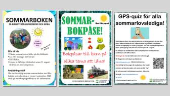 Bibliotekets sommarlovsaktiviteter för barn och unga