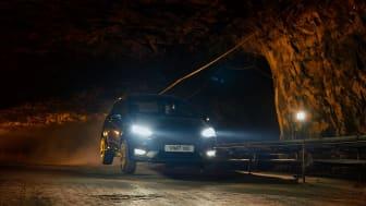 Se nye Ford Fiesta ST kjøre 400 meter under bakken!