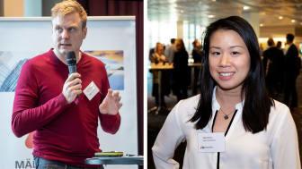 Tomas Eriksson (MP), Region Stockholm och Julie Tran (C), Region Östergötland har lett arbetet i Mälardalsrådets En Bättre Sits-process arbetsgrupp Framtidens resor.