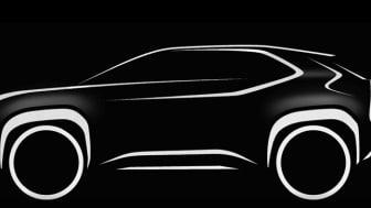 Toyota kunngjør ny kompakt SUV for Europa