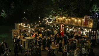 Härligt bakgårdshäng i Findus Peas Out Lounge på Way out West 2016