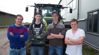 Ungdomar om framtidens jordbruk: – Vi vill inte sitta på kontor och styra traktorn