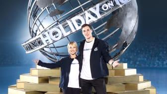 Aljona Savchenko und Bruno Massot sind die Schirmherren der HOLIDAY ON ICE ACADEMY