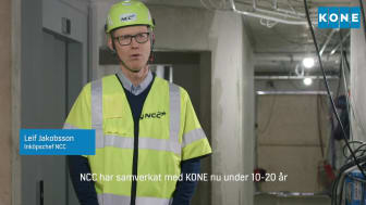 Video KONE DX Brf Tulpanen