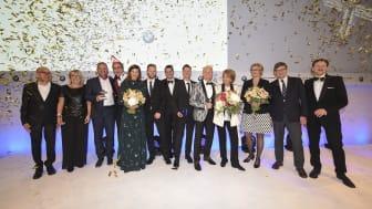 Preisträger und Laudatoren des Felix Burda Award 2019
