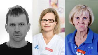 Niklas Mattsson-Carlgren , Maria Eriksdotter, Maria Bradley.