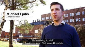 Childhood diabetes at Astrid Lindgren Children's Hospital in Stockholm (Swedish with English subtitles)