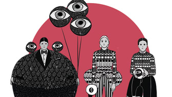 Djurens karneval Poster illustration