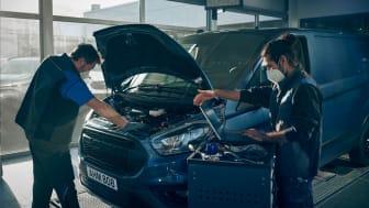 Ford lanserer FORDLiive – en ny tjeneste som vil øke nyttekjøretøykunder sin produktivitet