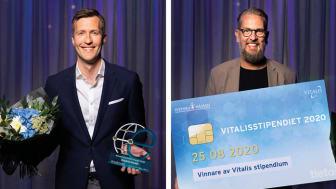Banbrytare tog priset på Vitalis 2020
