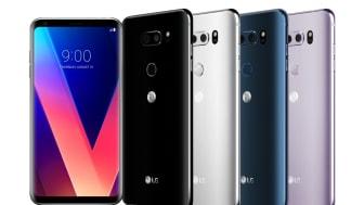 LGs lovpriste smarttelefon V30 lanseres på det nordiske markedet