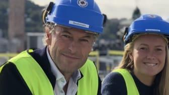 AVA Eiendom ved CEO Arne Vannebo og leder for miljø og bærekraft Camilla Vannebo satser på BREEAM In-Use.