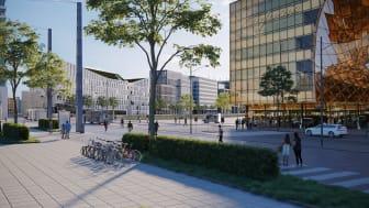Hyllie är, med sitt fantastiska läge i regionen, ett av Malmös mest expansiva utvecklingsområden.