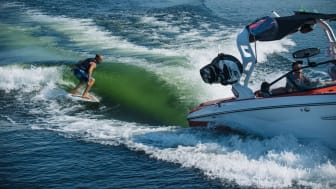 YANMAR, Mastry, and Nautique have developed an innovative solution based on the YANMAR 8LV370 marine diesel engine for the wake sports boating sector