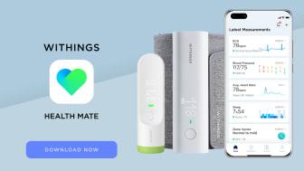 Withings populära hälsoapp Health Mate finns nu i AppGallery