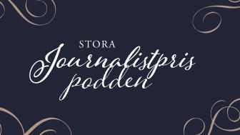 Stora Journalistprispodden logga