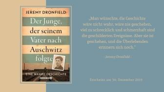 Der Junge, der seinem Vater nach Auschwitz folgte: Ein eindringliches Plädoyer gegen das Vergessen