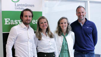 F.v: Håkon Skog Erlandsen, Aina Hagen, Mette Nygård Havre og Tom Stiansen