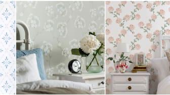 Från pigga värmande guldgula toner och lugna blåtonade tillbakablickar till sköna gröna blad och rosa skimrande romantik. För 2019 tycker vi oss se fyra starka stilar.