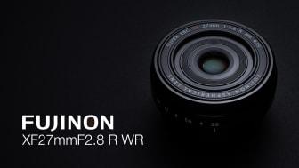 FUJINON XF27mm F2.8 R WR
