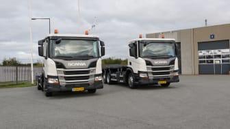 To flotte Scania P 280 B6x2*4 leveret til Grundfos