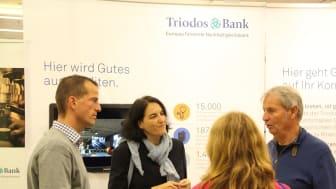Beratung zu nachhaltigen Geldanlagen auf dem Börsentag Frankfurt