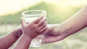 Det torra och varma vädret påverkar tillgången till dricksvatten på många håll