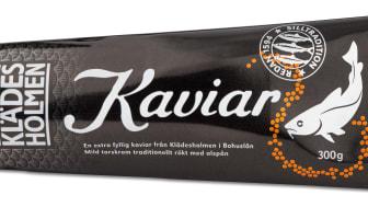 Klädesholmens Kaviar nu MSC-märk samt i ny design