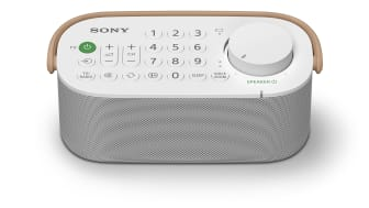 Doživite jasniji zvuk uz Sonyjev praktični bežični zvučnik za televizor SRS-LSR200