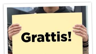 Göteborgs Stad påminner de unga förstagångsväljarna i kommunen om att rösta, genom ett vykort hem.
