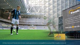 Grundfos erövrar Sveriges sport- och eventarenor