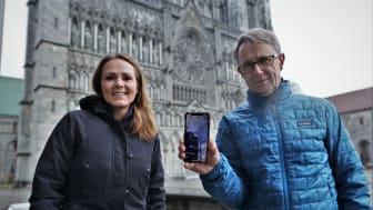 Bjørn Amundsen og Linda Hofstad Helleland