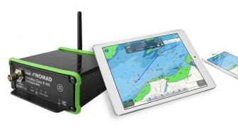 Nomad AIS with iPad