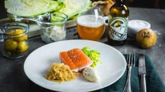 Sätt smak på höstmaten med ofiltrerat öl