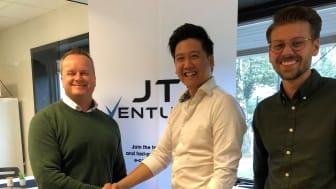 Nicklas Schmidt SLP, Jimmy Tieu JTI Ventures, Filip Persson SLP