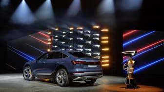 Audi e-tron Sportback er ny elektrisk SUV-coupé