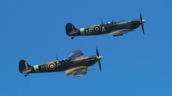 Saluting 'The Few' at Battle of Britain commemoration