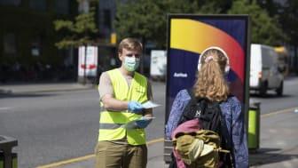 Krav om mundbind i bussen i seks kommuner i Østjylland