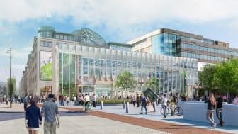 Moderniserat Knutpunkten blir Helsingborg C – och en destination för matälskare