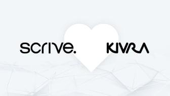 Kivra ingår samarbete med Scrive