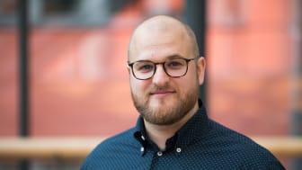 Casper de Lichtenberg, doktorand på kemiska institutionen vid Umeå universitet. Foto: David Naylor
