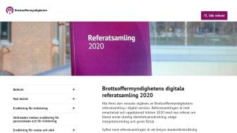 Brottsoffermyndigheten lanserar en ny digital referatsamling