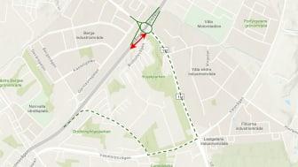 Från 4 maj bygger vi om Brohults trafikplats för bättre framkomlighet