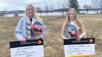 Kajsa Askenryd och Emma Degerman är de två Piteåbor som får sina önskningar uppfyllda.