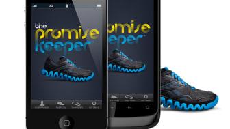 Reebok presenterar The Promise Keeper- en virtuell löparvän som får dig att hålla dina träningslöften