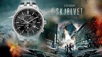 Sikre deg den eksklusive Skjelvet Edition klokken fra Citizen. Det finnes bare 200 stk av den!