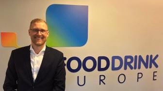 Lars Appelqvist, vice ordförande för FoodDrinkEurope