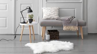 Få en stilren og skandinavisk indretning