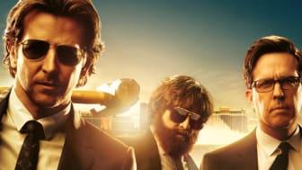 Med 3 x Bradley Cooper, Ed Helms og Zach Galifianakis går man ikke helt galt i byen, når C More viser kultfilmene Tømmermænd i Vegas, Tømmermænd i Thailand og Tømmermænd tur-retur