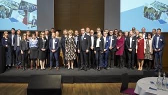 ATV's nye medlemmer blev formelt optaget på Akademiets årsmøde den 7. maj. Foto: Tom Jersø
